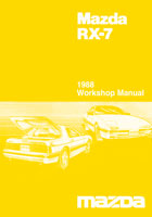mazda rx 7 reference materials