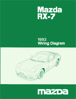 mazda rx 7 reference materials1993 rx 7 wiring diagram