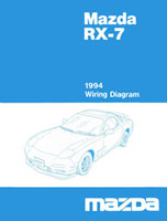 mazda rx 7 reference materials1994 rx 7 wirng diagram